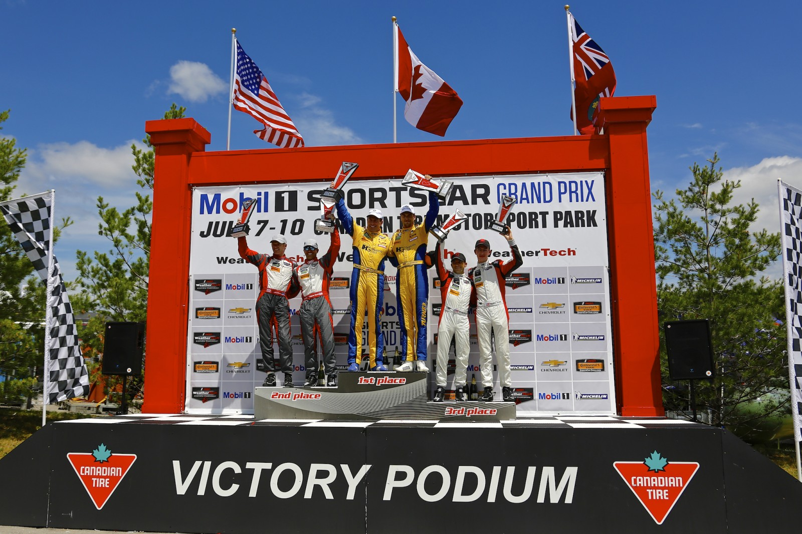 Turner Motorsports No. 96 Wins at Canadian Tire Raceway