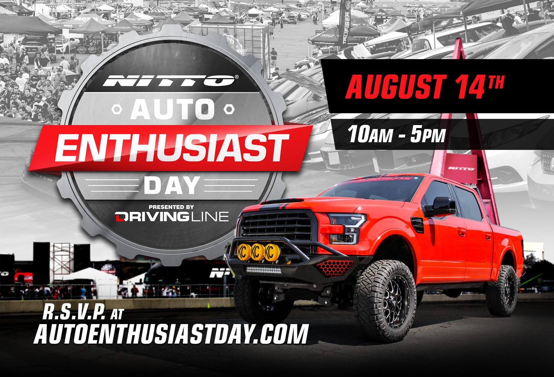 Nitto Auto Enthusiast Day 2016