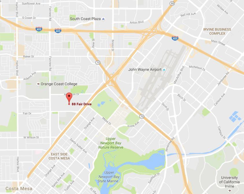 Map to OC Fair for Sand Sports 2016 Fair Dr - Google Maps
