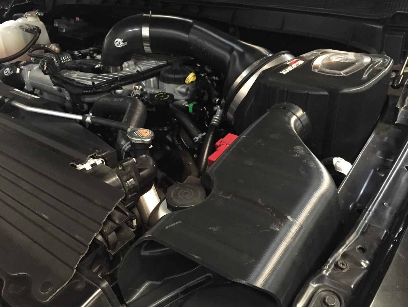 Nissan Titan XD Momentum HD Prototype Intake