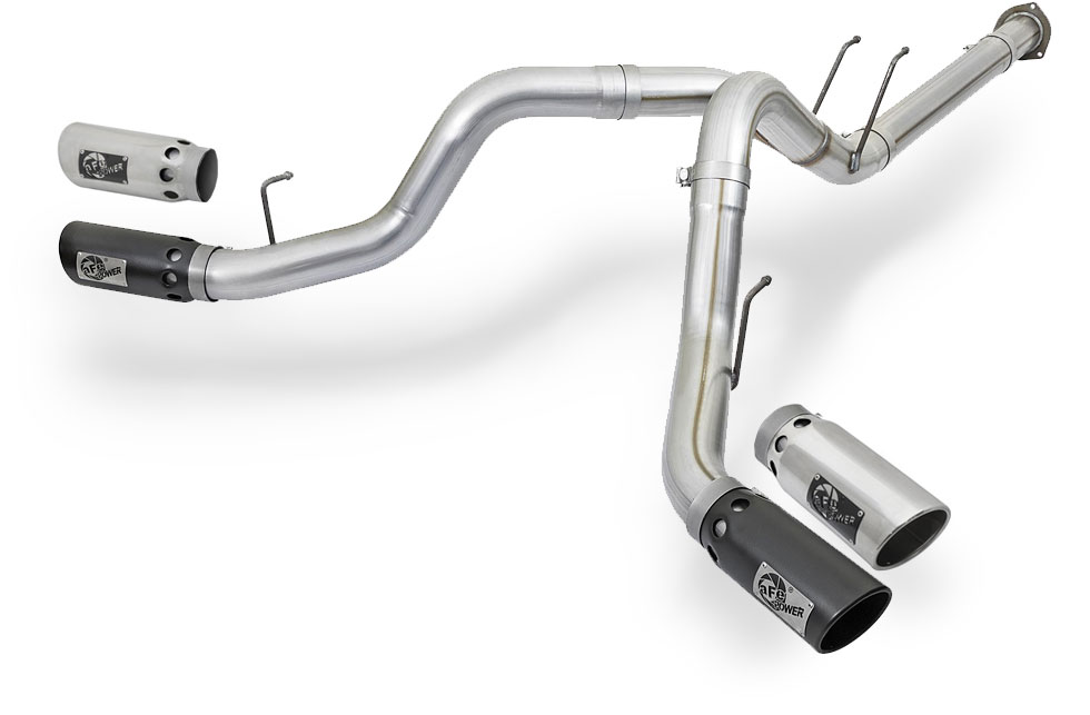 aFe 2017 Power Stroke F-250 F-350 Exhaust 4-inch
