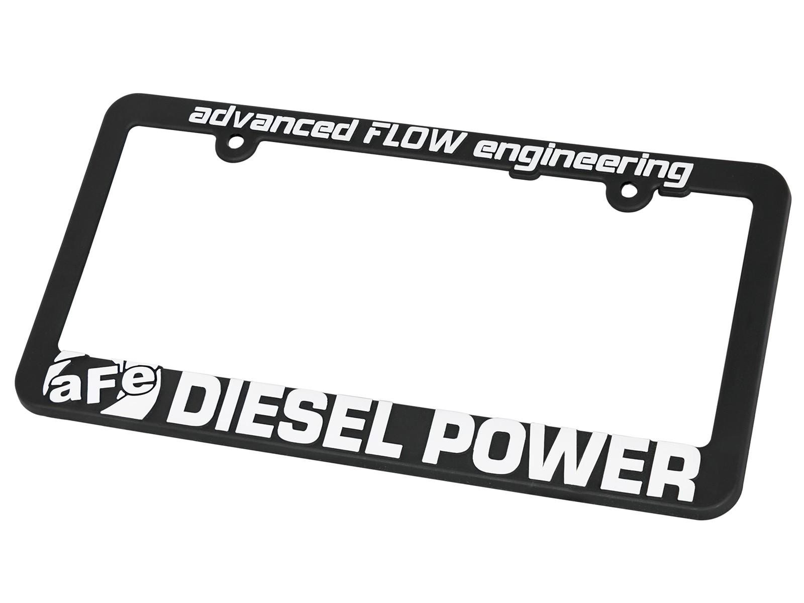 License Plate Frame: aFe POWER Diesel | aFe POWER