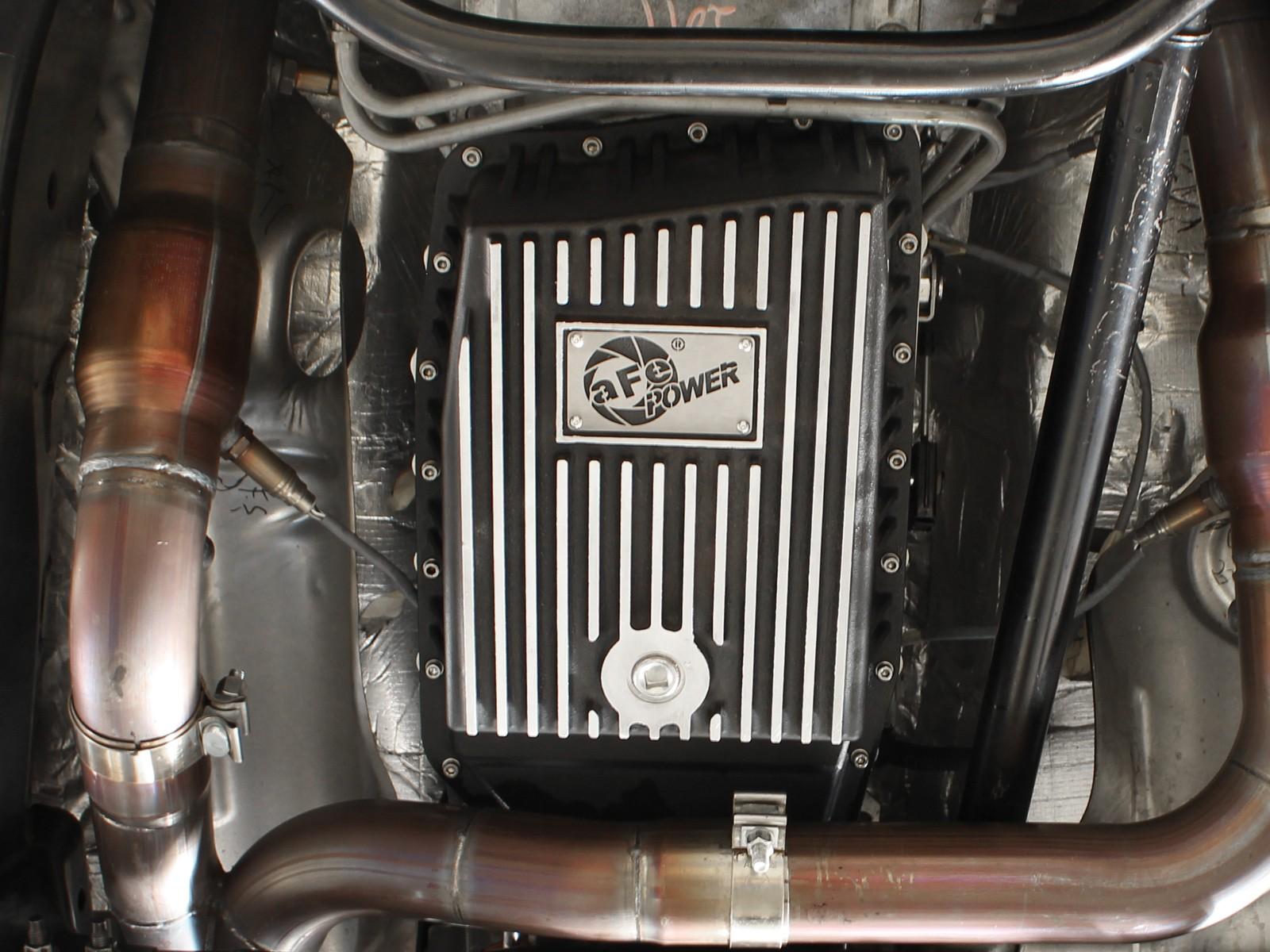 Afe power 46 70172 transmission pan machined fins