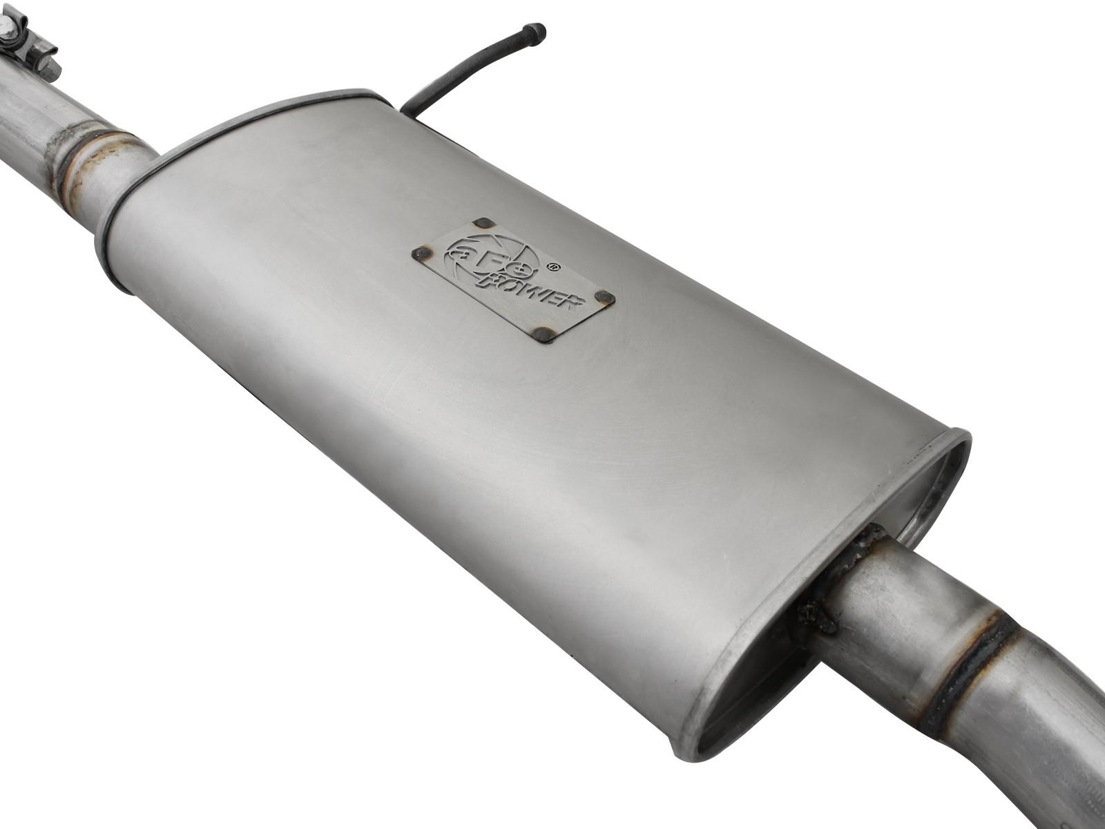 Afe Power 49 08040 Scorpion 2 1 2 Quot Aluminized Steel Cat