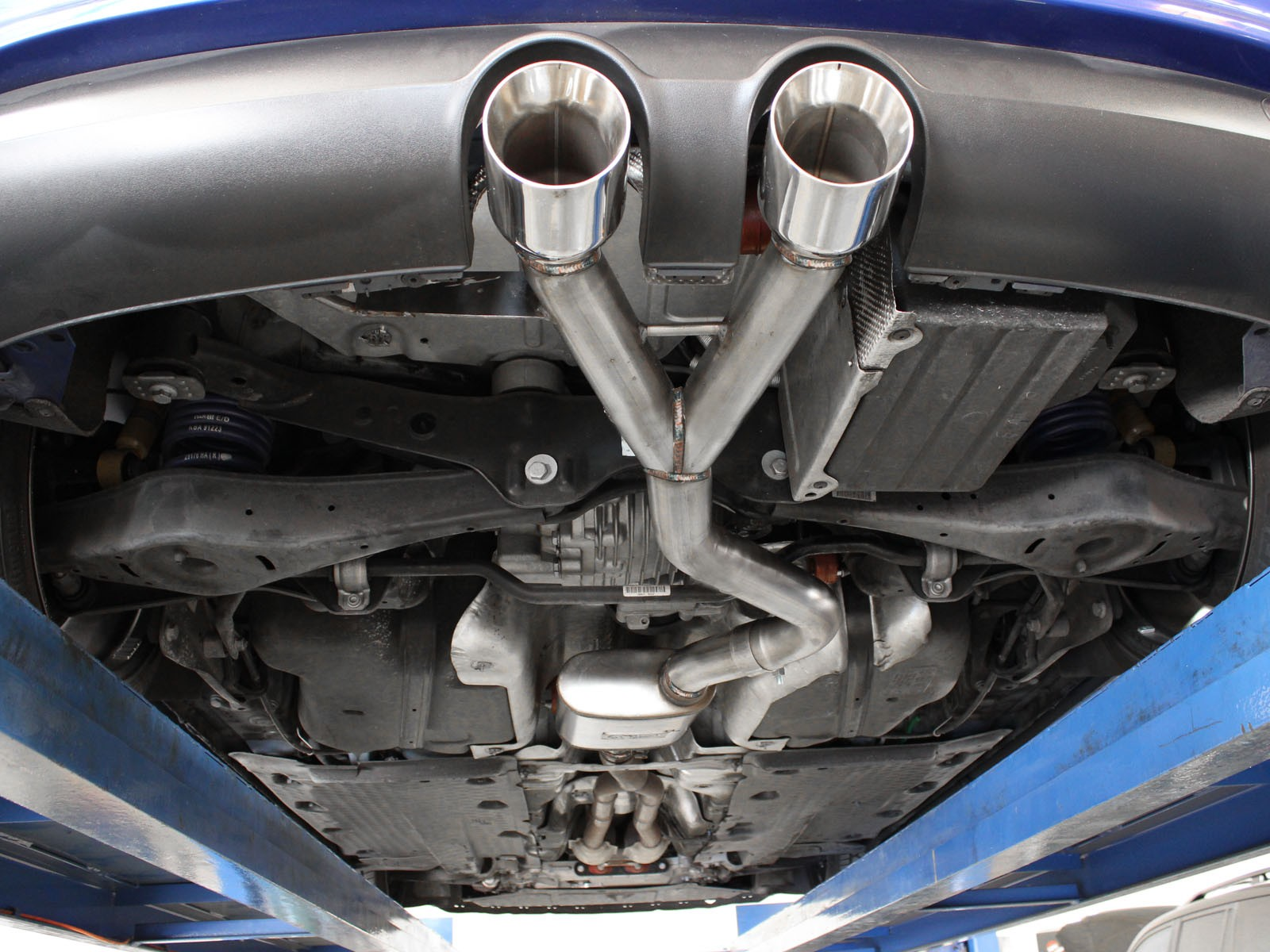 Mach Force Xp 2 1 2 Quot 304 Stainless Steel Cat Back Exhaust