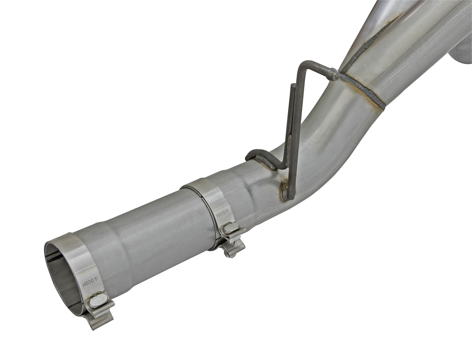 Large Bore Hd 4 Quot 409 Stainless Steel Dpf Back Exhaust