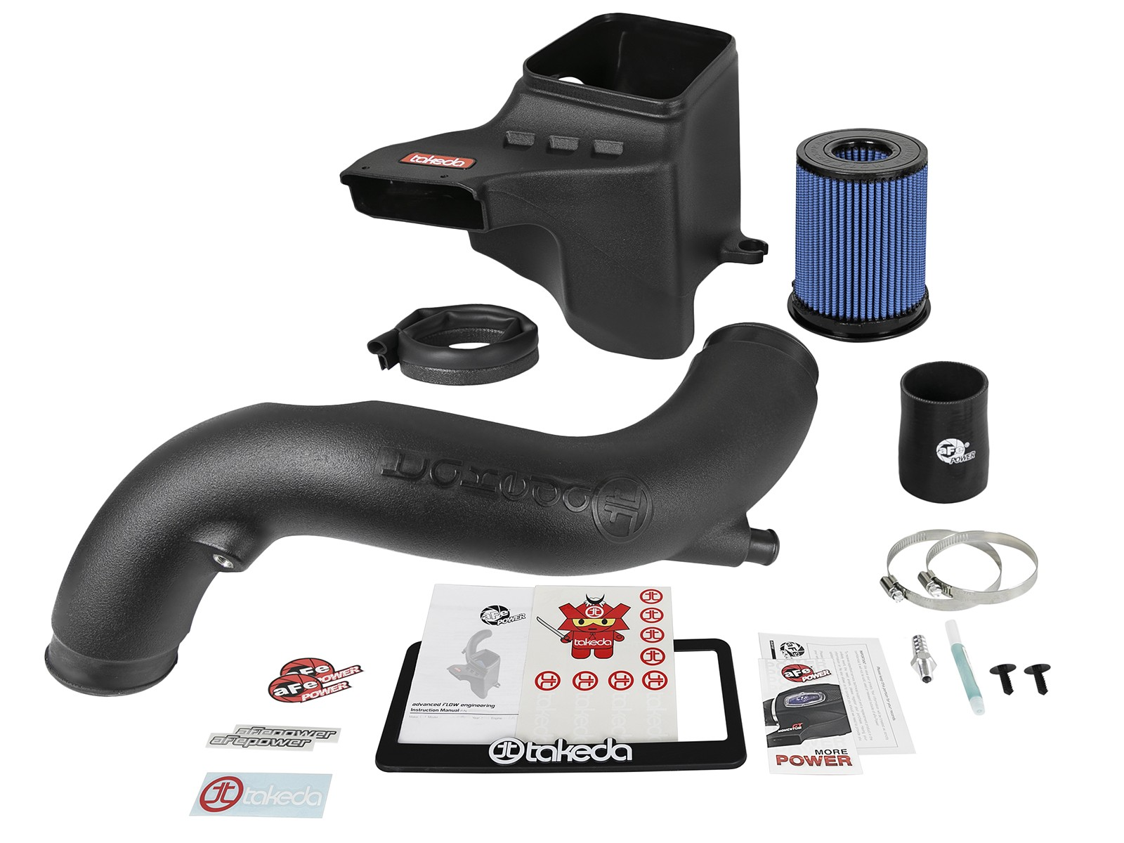 Takeda Stage-2 Cold Air Intake System w\/Pro 5R Filter