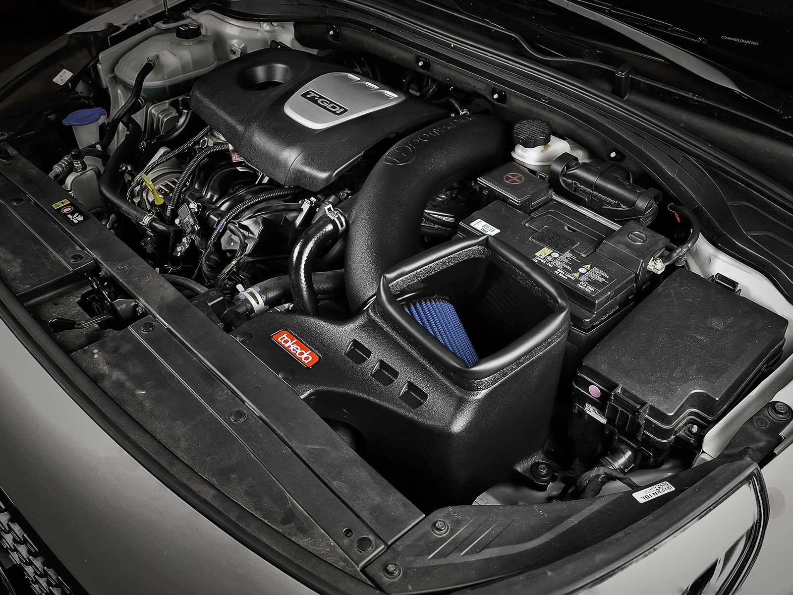Performance Air Intake for 2011-2017 HYUNDAI ELANTRA 2.0L L4 ENGINE BLACK