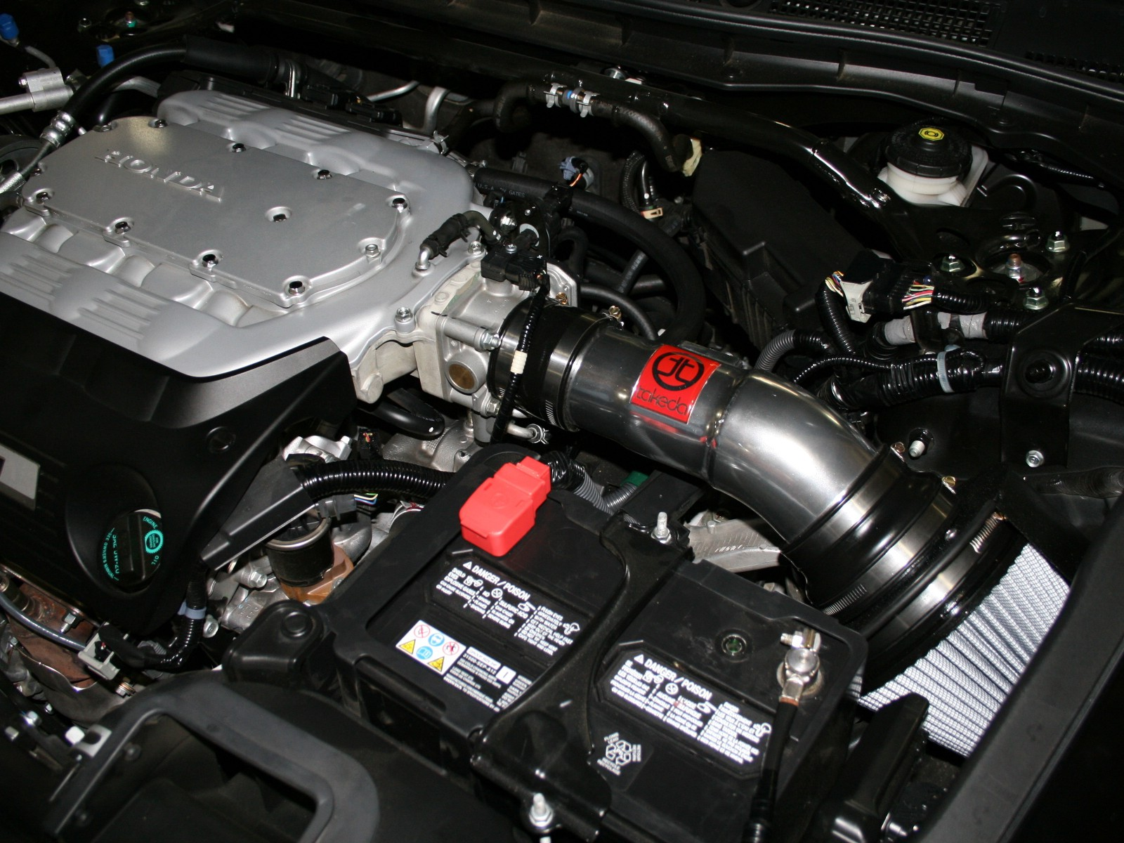 fit 2008-2012 HONDA ACCORD CROSSTOUR 3.5L V6 COLD AIR INTAKE KIT