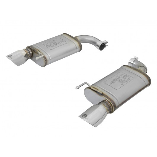 Mach Force Xp 2 1 2 Quot 409 Stainless Steel Axle Back Exhaust
