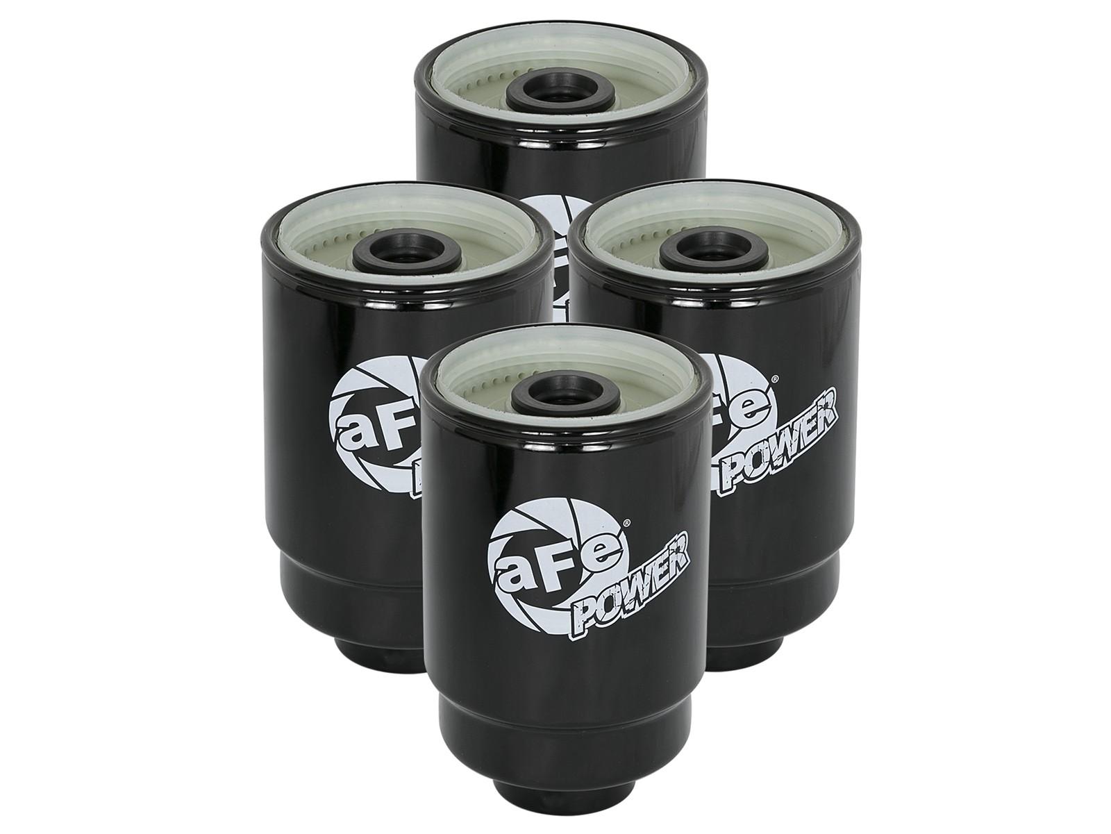 Pro GUARD HD Fuel Filter (4 Pack) | aFe POWER | Afe Duramax Fuel Filter |  | aFe POWER