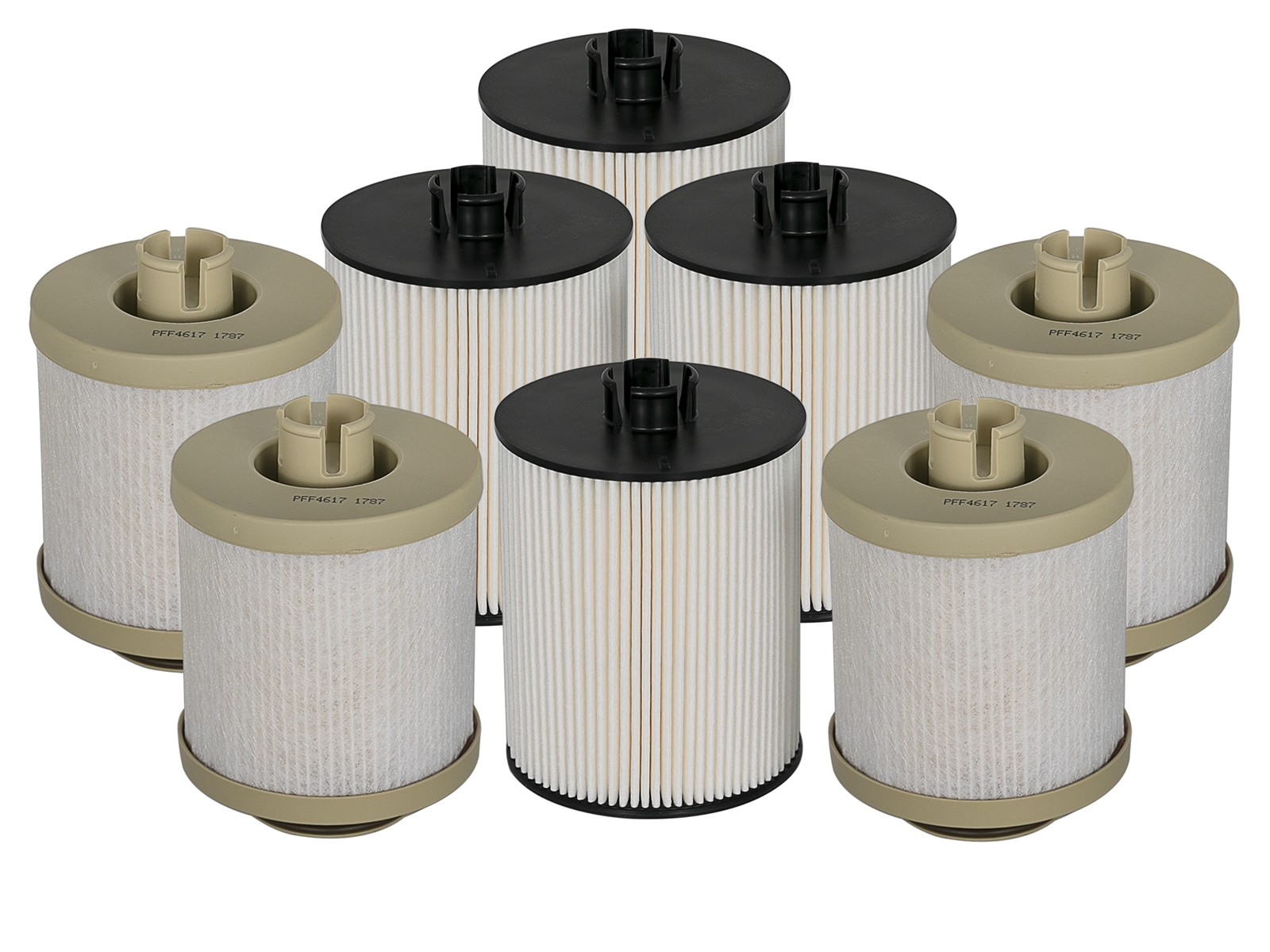 Pro Guard D2 Fuel Filter 4 Pack Afe Power Filters Dodge Diesle 94 02