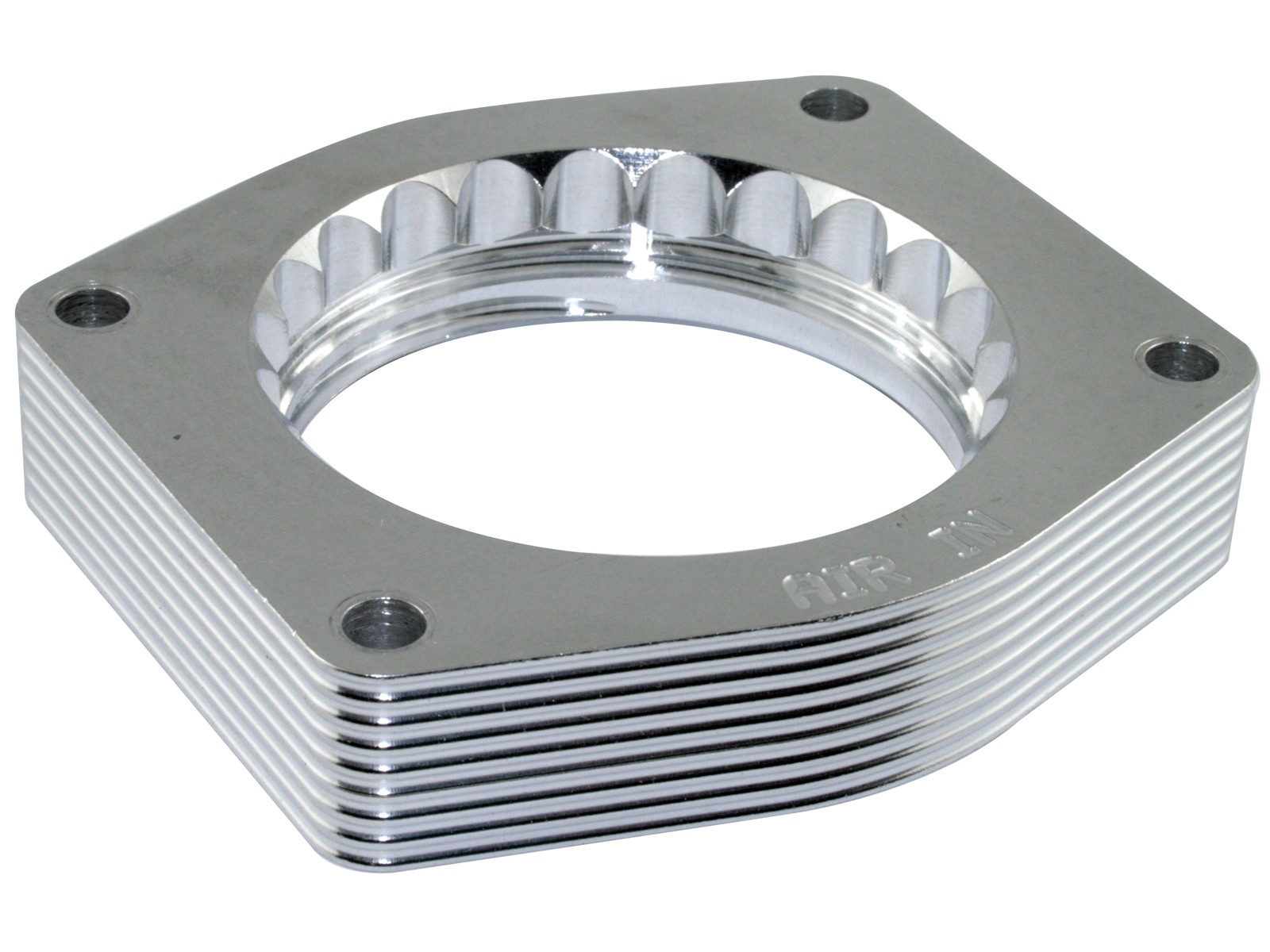 Silver Bullet Throttle Body Spacer Afe Power