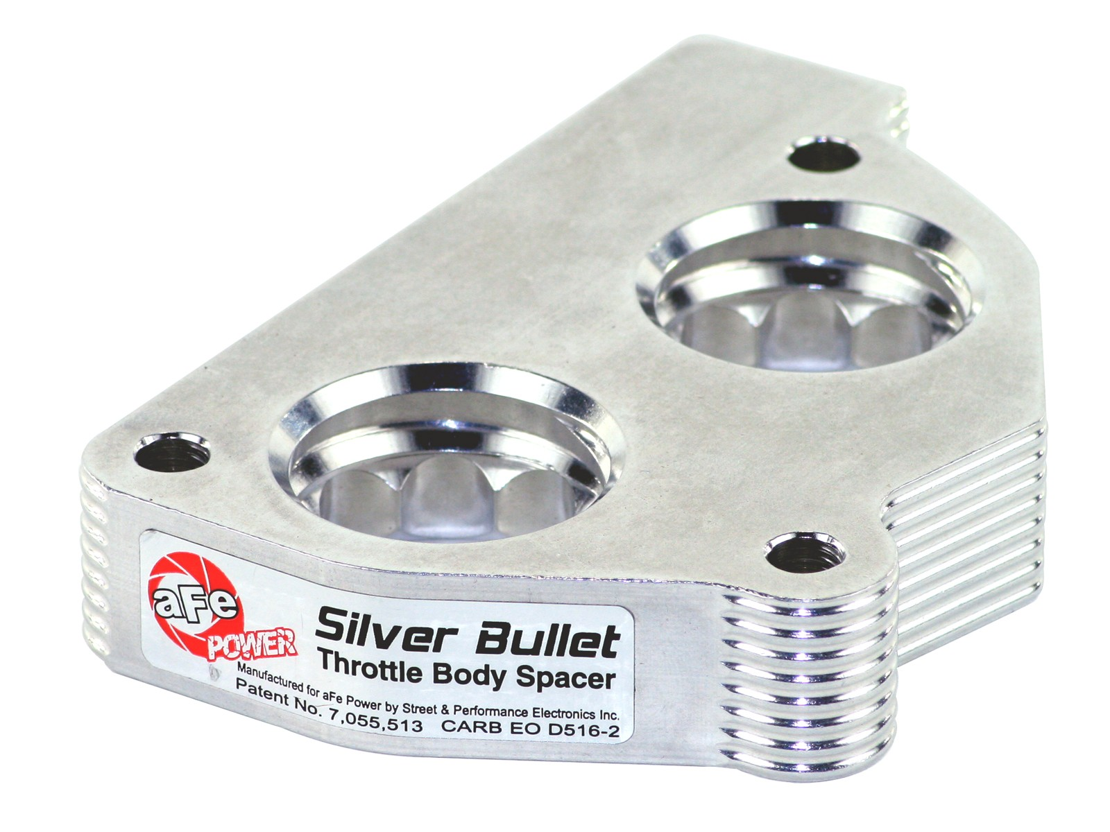 aFe Power Silver Bullet Throttle Body Spacer For 05-15 Toyota 4.0L V6 Truck SUV