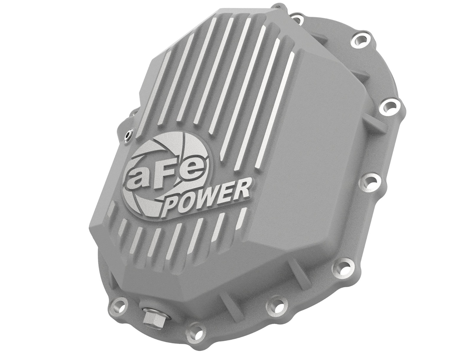 Street Series Front Differential Cover Raw w\/Machined Fins