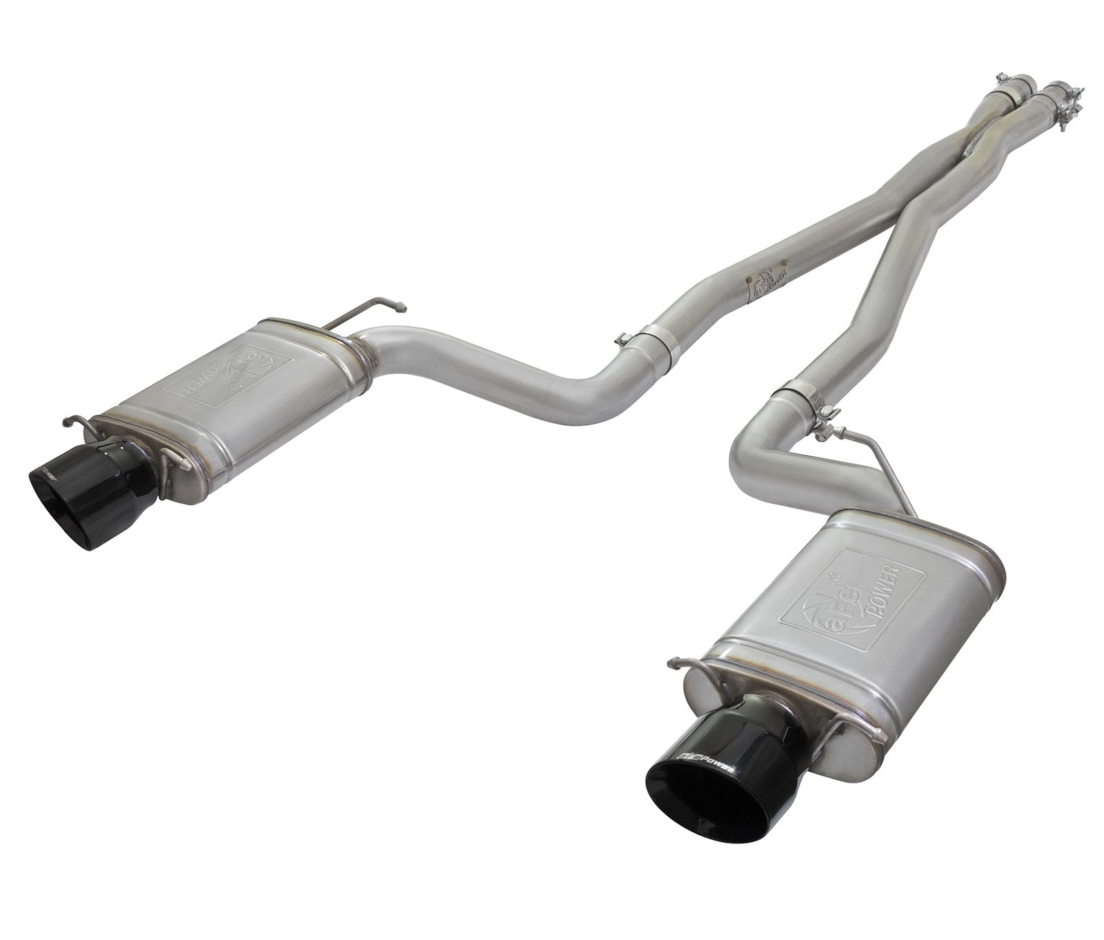 """aFe POWER 49-34063-B MACH Force-Xp 3"""" 304 Stainless Steel Cat-Back Exhaust System"""