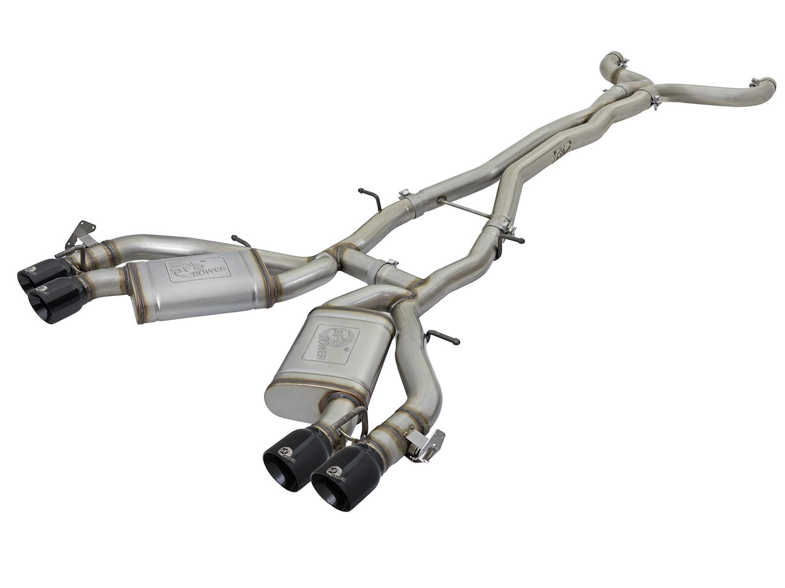 """aFe POWER 49-34069-B MACH Force-Xp 3"""" 304 Stainless Steel Cat-Back Exhaust System"""