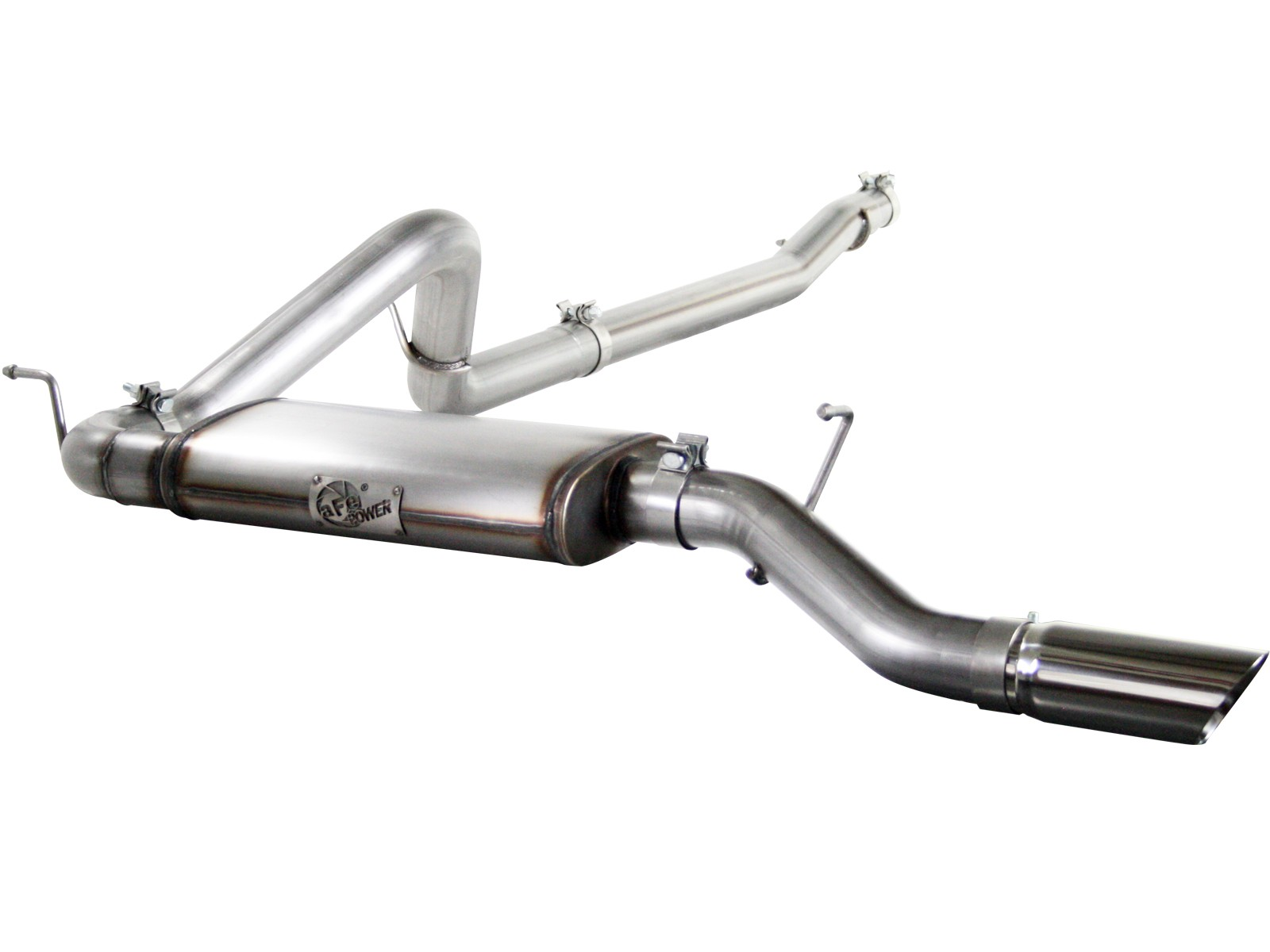 """aFe POWER 49-46213 MACH Force-Xp 3"""" 409 Stainless Steel Cat-Back Exhaust System"""