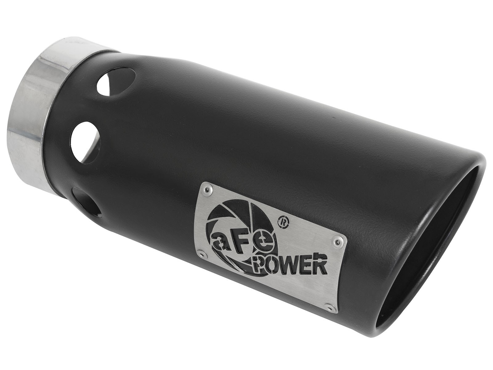 """MACH Force-Xp 5"""" 409 Stainless Steel Intercooled Exhaust Tip"""