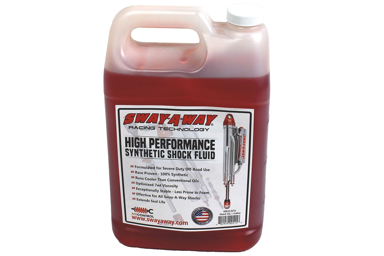 aFe Control Sway-A-Way Shock Oil, 1 Gallon