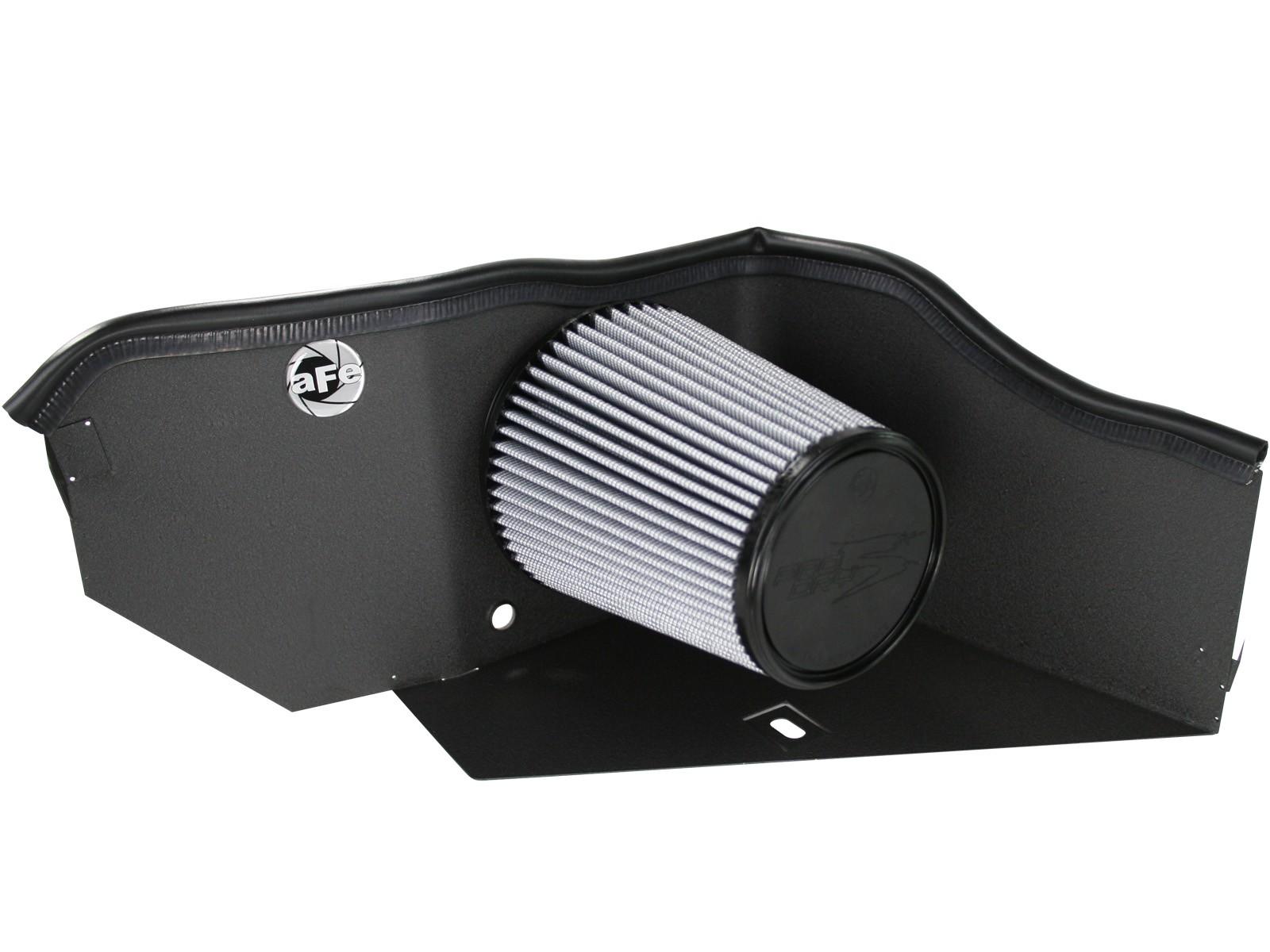 "4/"" BLACK Heat Shield Cold Air Intake Kit Filter For 96-00 Suburban//Yukon V8"