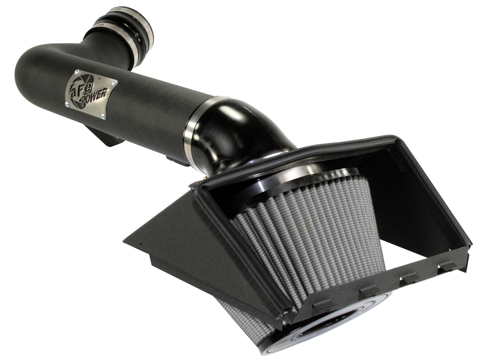 aFe Power 54-11902-1 Magnum Force Stage-2 Cold Air Intake System with Black Tube and Pro 5R Air Filter for Ford F-150 V8-6.2L