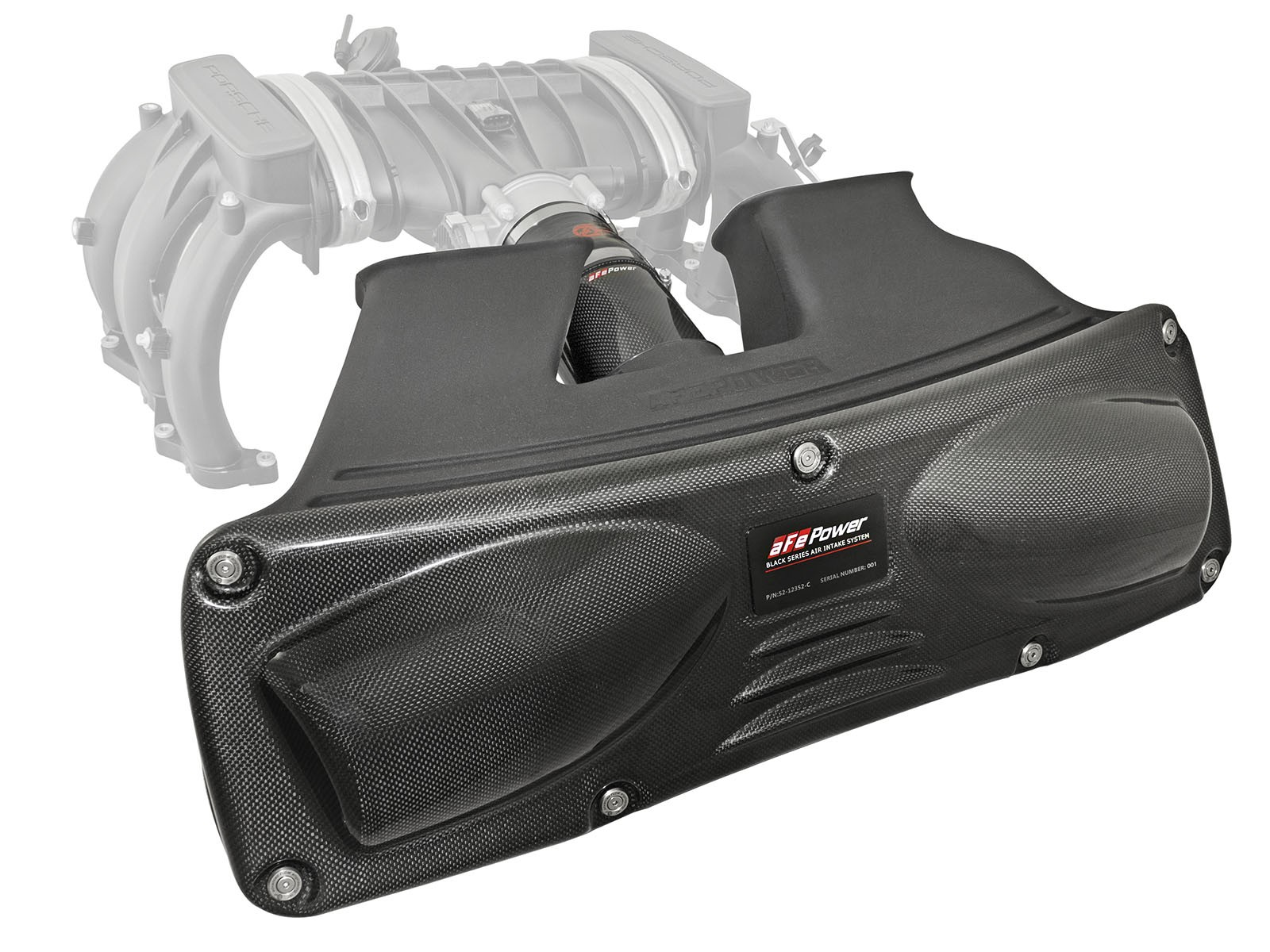 Black series cold air intake system afe power publicscrutiny Choice Image