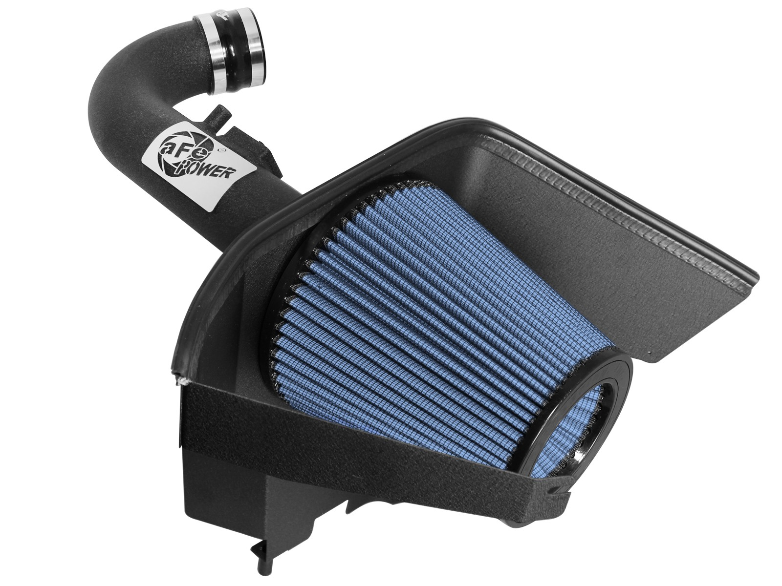 "Filter For 12-15 Camaro 3.6L V6 3.5/"" BLUE Heat Shield Cold Air Intake Kit"