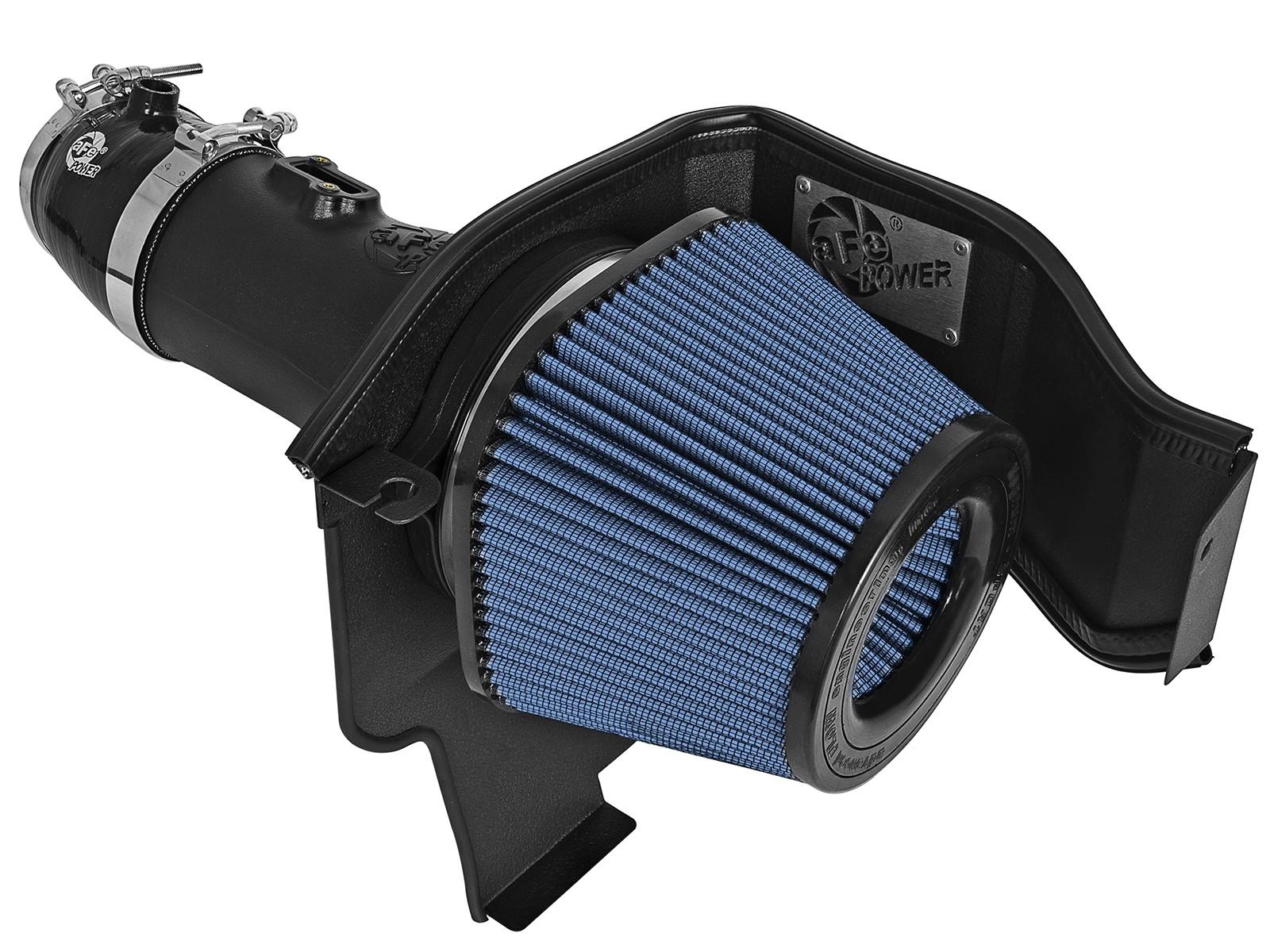 BLUE COLD AIR INTAKE KIT DRY FILTER FOR DODGE 05-10 CHARGER//MAGNUM 2.7L V6