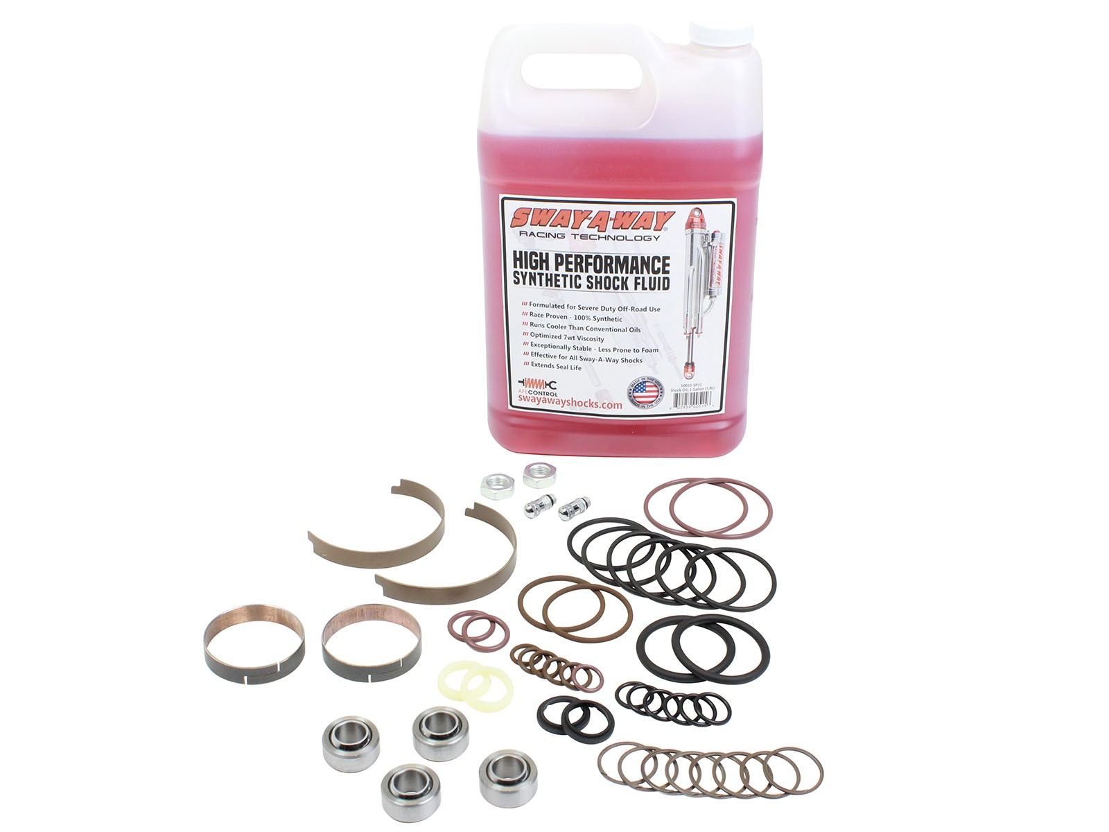 "aFe POWER 56000-SP01 aFe Control Sway-A-Way 2.5"" Shock Master Rebuild Kit 7/8"" Shaft"