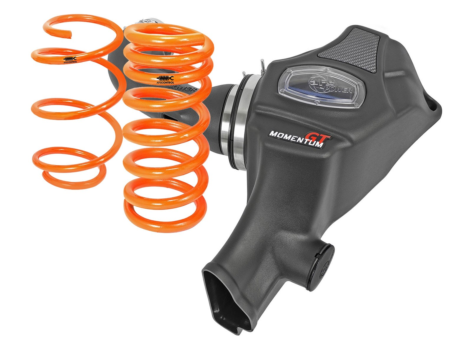 Momentum GT Cold Air Intake System w/Pro 5R Filter Media & Lowering Springs - Web Exclusive