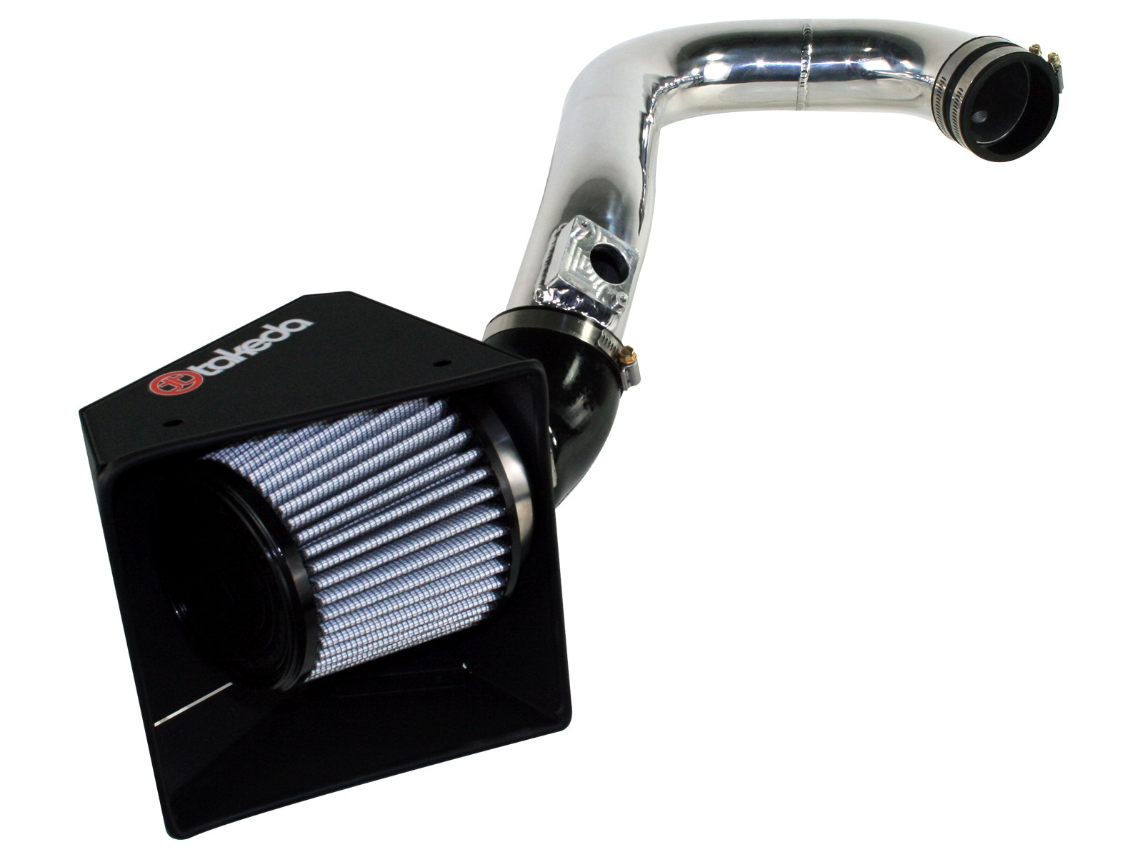 Synthetic Polished Cold Air Intake For Tacoma 05-15