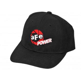 aFe POWER Snapback Embroidered Hat Black