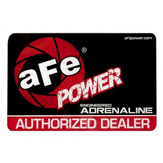 Window Cling, aFe Power Dealer: Medium