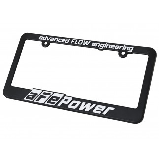 License Plate Frame: aFe Power