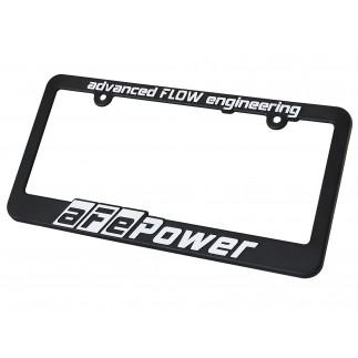 License Plate Frame: aFe Power