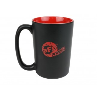 Mug 13 oz. Matte Black w/ Red Logo