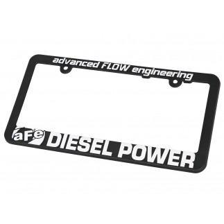 License Plate Frame: aFe POWER Diesel