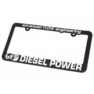 License Plate Frame: aFe POWER Diesel