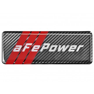 Badge aFe POWER Motorsports, Carbon Fiber; 1.86