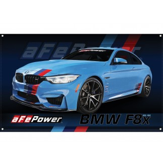 Fabric Garage Banner - F82 BMW M4
