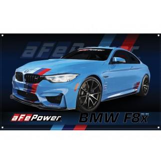 Fabric Garage Banner - F82 BMW M4