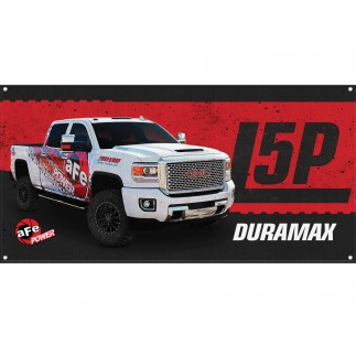 Fabric Garage Banner - GM Duramax L5P