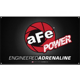 Fabric Garage Banner - aFe Corporate