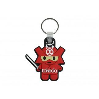 Takeda USA Samurai Keychain