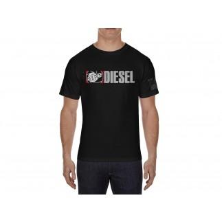 Apparel; Shirt, Tee - w/ Diesel, Black (3XL)