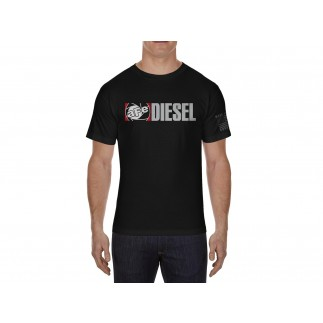 Apparel; Shirt, Tee - w/ Diesel, Black (3XL)