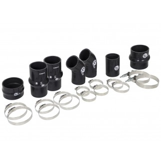 BladeRunner Intercooler Couplings & Clamps Kit; aFe Tubes Only