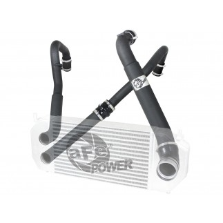 BladeRunner Aluminum Hot and Cold Charge Pipe Kit Black