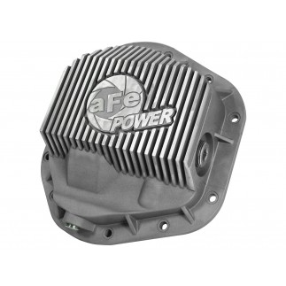 Front Differential Cover, Raw Finish; Street Series